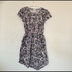 LuLaRoe Girl Size 8 Floral Dress